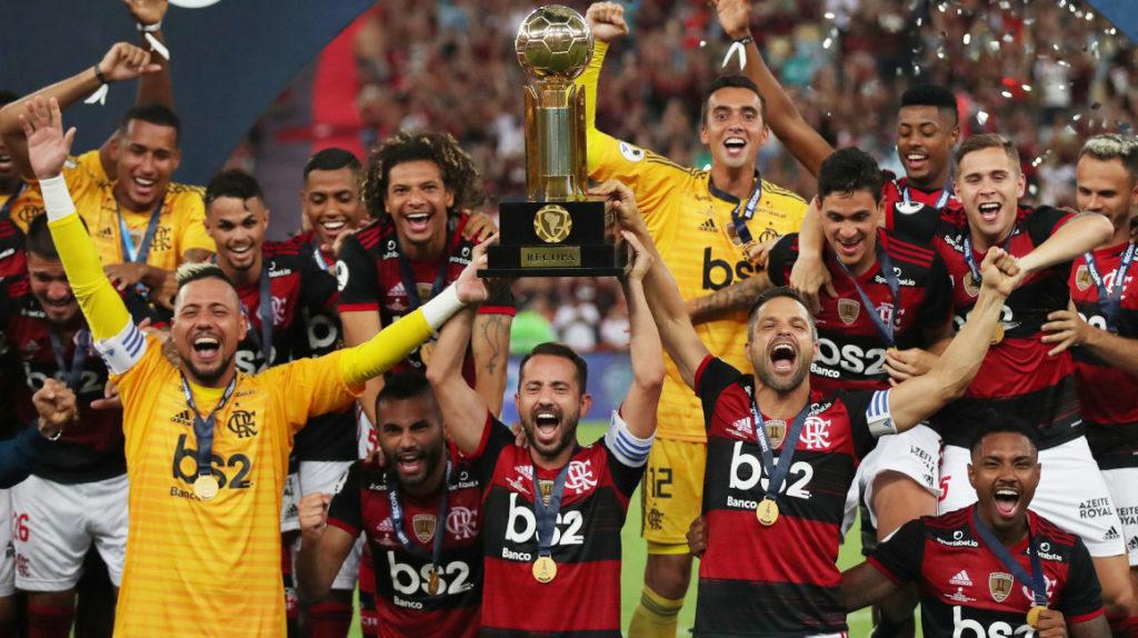 Flamengo se corona campeón de la Recopa con 'Gabigol' como figura