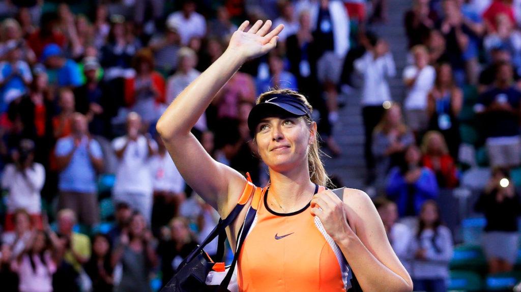 María Sharapova anuncia su retiro del tenis a sus 32 años