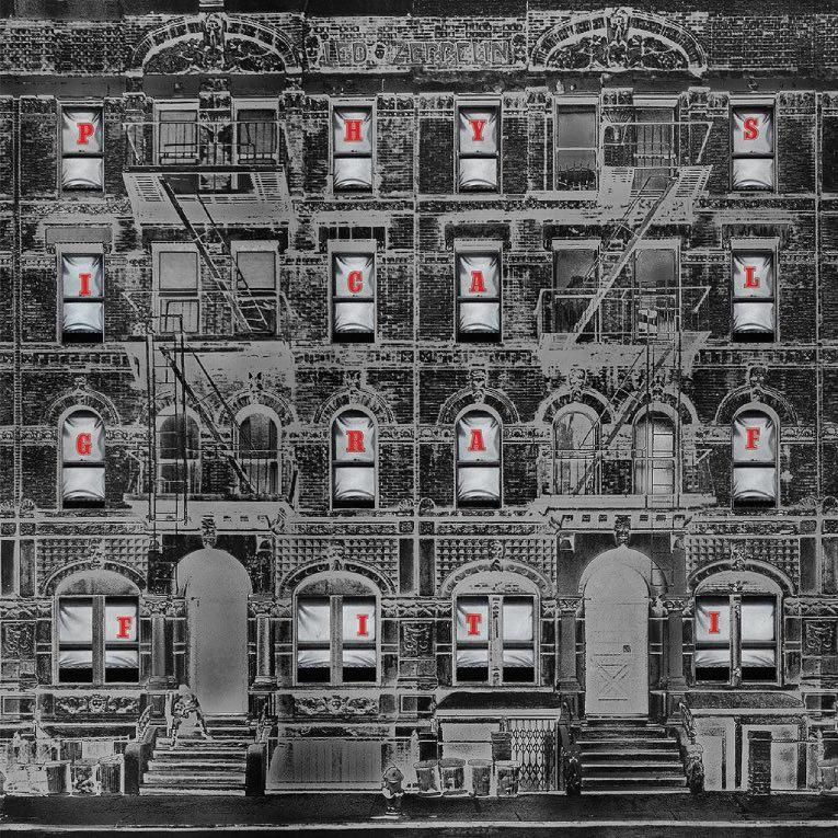 Portada del sexto disco de Led Zeppelin.