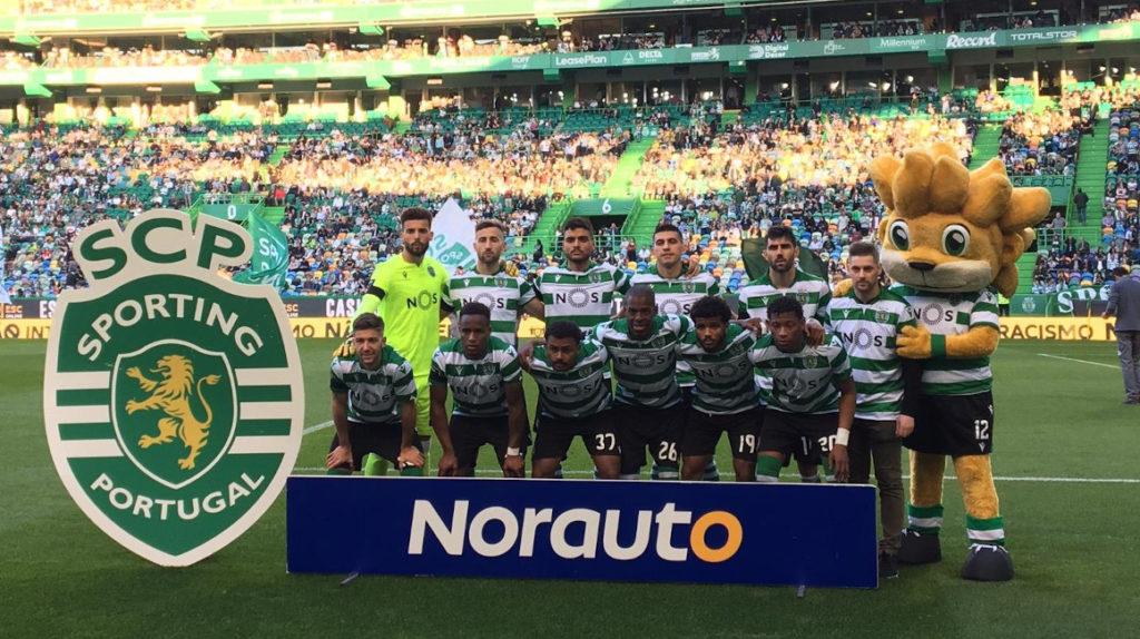 Gonzalo Plata marcó el segundo gol en la victoria del Sporting de Lisboa
