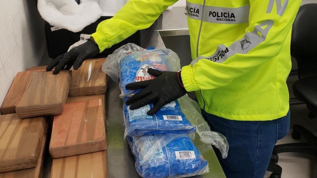 17,5 kilos de clorhidrato de cocaína, incautados en Guayaquil