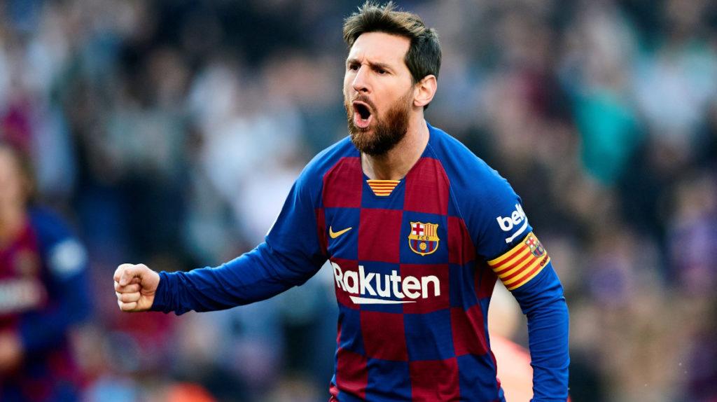 Show de Messi para la goleada del FC Barcelona sobre Eibar