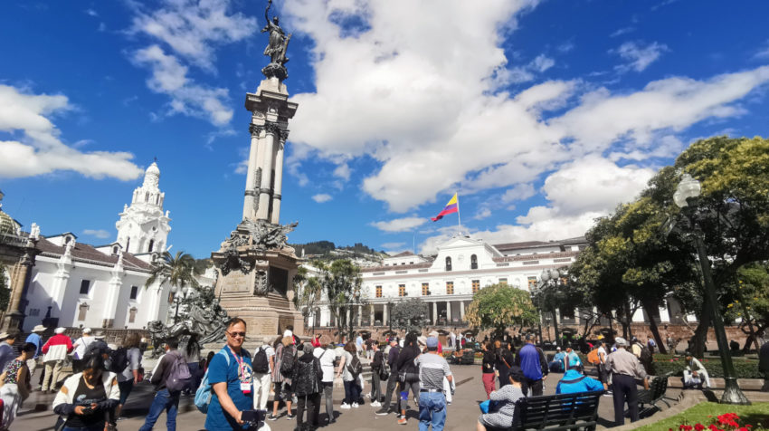 La Plaza Grande es uno de los lugares más representativos del Centro Histórico.