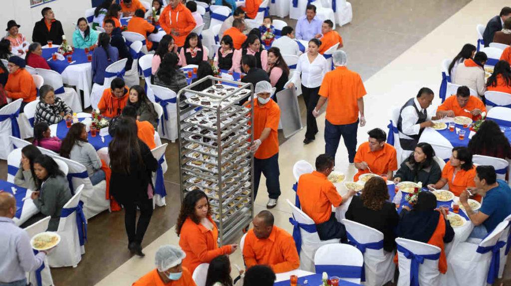 SNAI busca proveedor para alimentar a presos por USD 2,50 al día