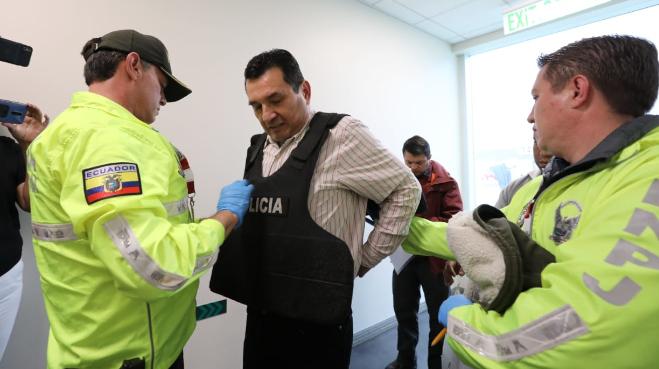 Romero, el primer extraditado de los prófugos correístas