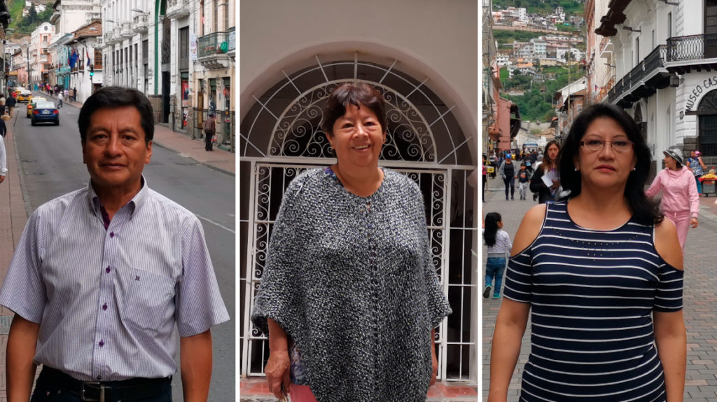Ellos sobreviven al éxodo masivo del Centro Histórico de Quito