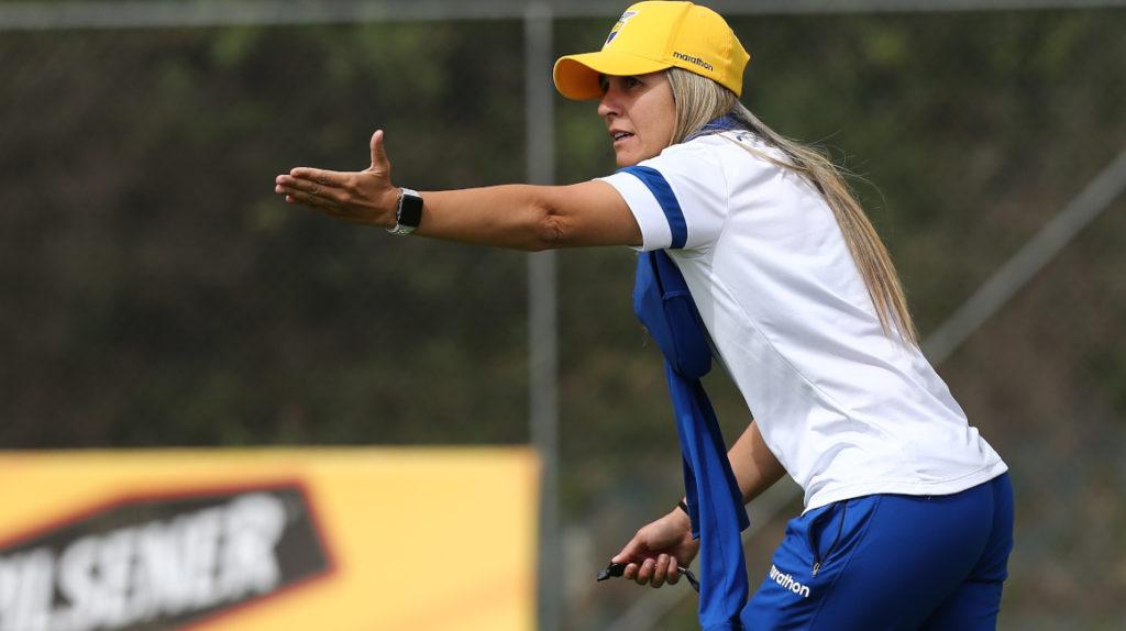 Emily Lima busca un cambio radical en el fútbol femenino ecuatoriano