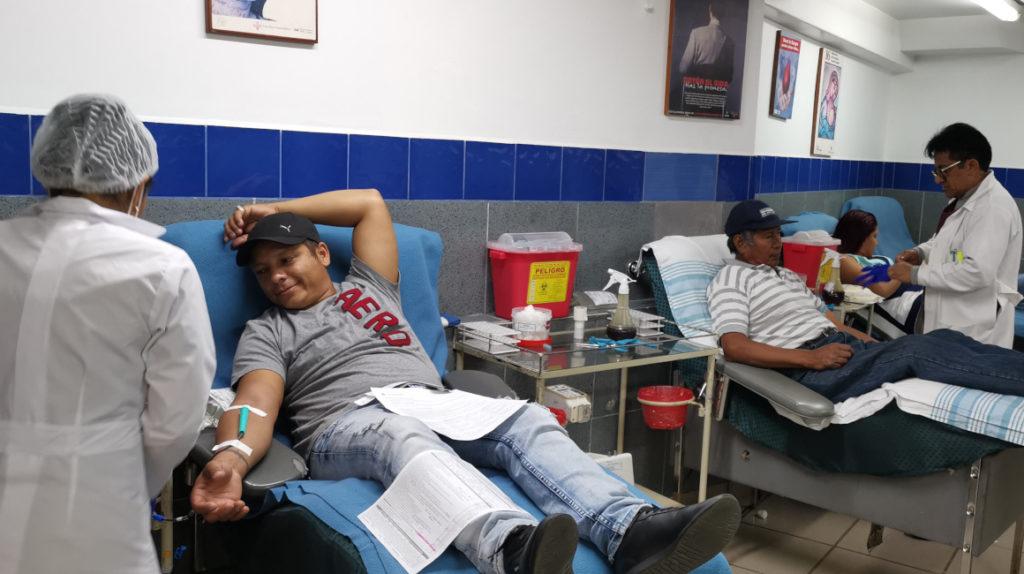 El 50% de personas dona sangre una sola vez en su vida