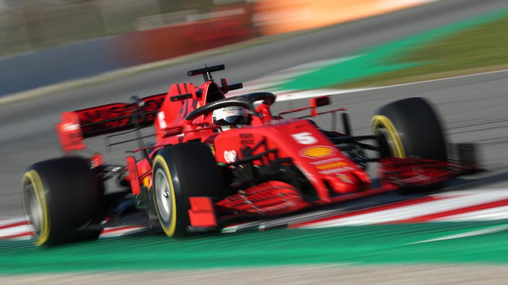 El Ferrari se rompe y Sebastian Vettel sigue sin tomarle el pulso a su auto