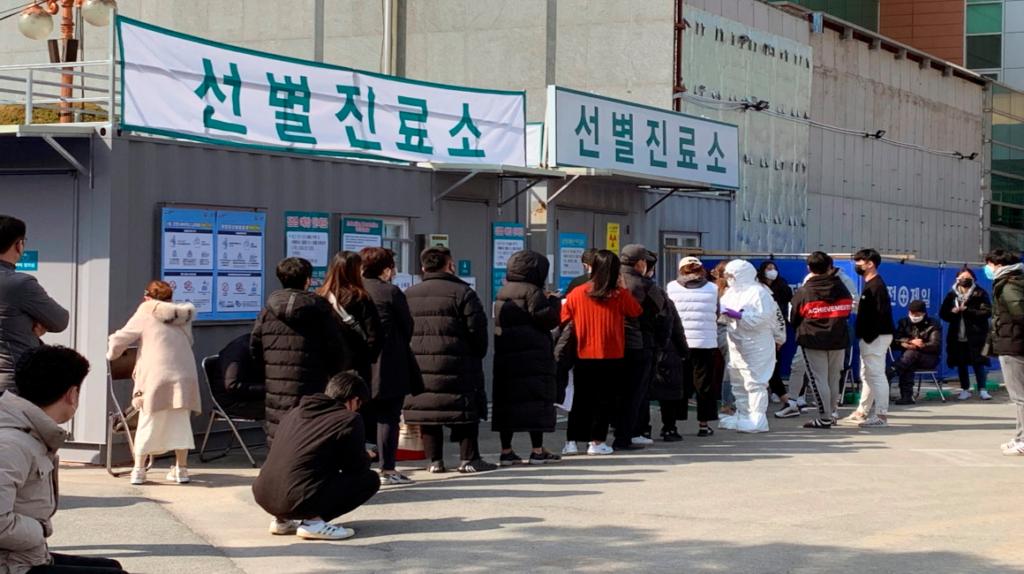 Casos de coronavirus se triplican en Corea del Sur