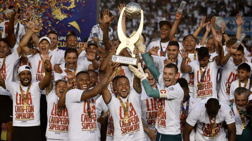 La Supercopa Ecuador se posterga por casos positivos de Covid-19