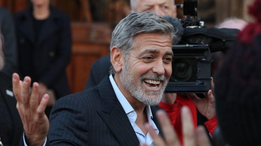 George Clooney, declarado en varias ocasiones el hombre más guapo del mundo.