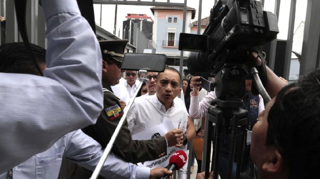 Yofre Poma reclama su puesto en la Asamblea tras su liberación
