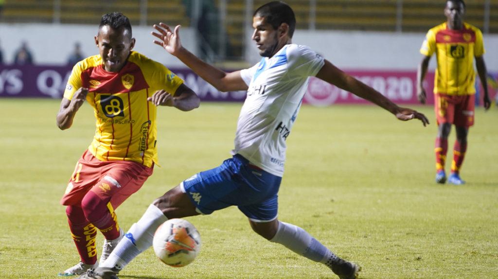 Enson Rodríguez sufrió un micro desgarro en su pierna izquierda