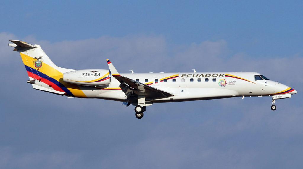 Lasso ordena iniciar el proceso de venta de uno de los aviones presidenciales