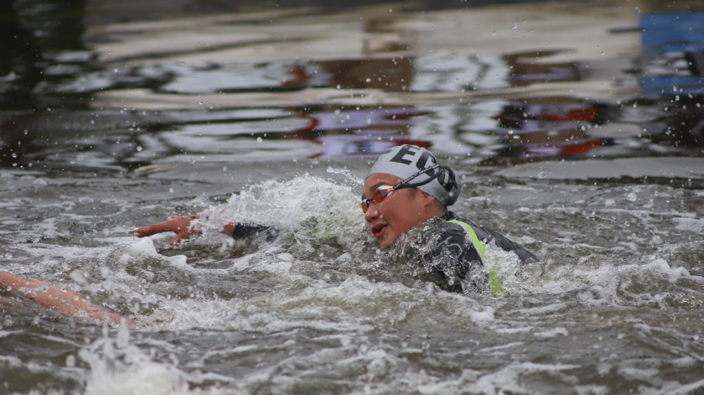 La nadadora Samantha Arévalo arrancó su 2020 en el top ocho mundial