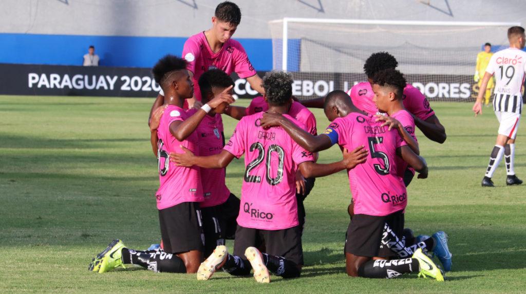 Independiente del Valle Sub 20 debutó con una victoria en Libertadores