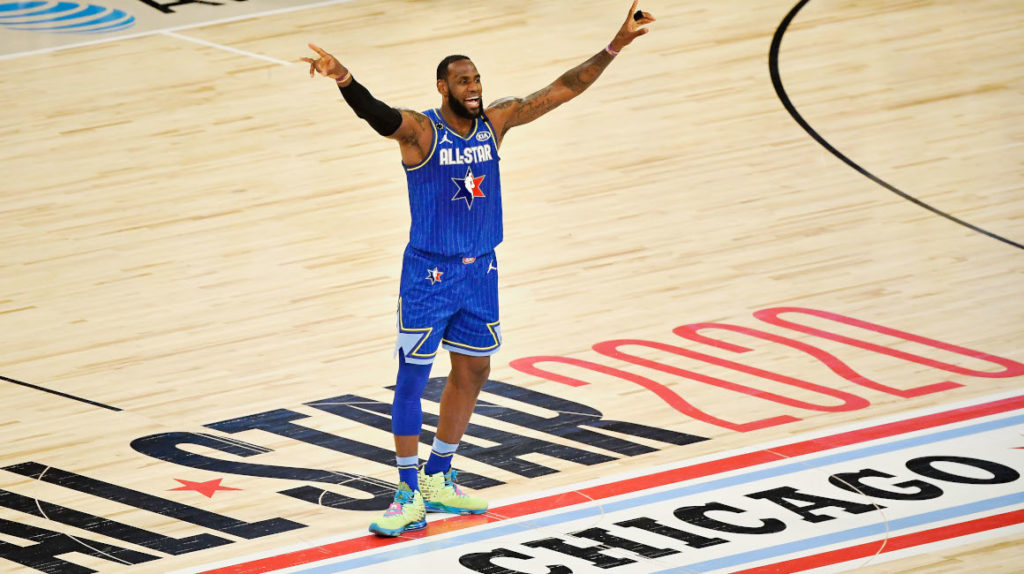 El equipo de Lebron James se lleva el All-Star Game de la NBA