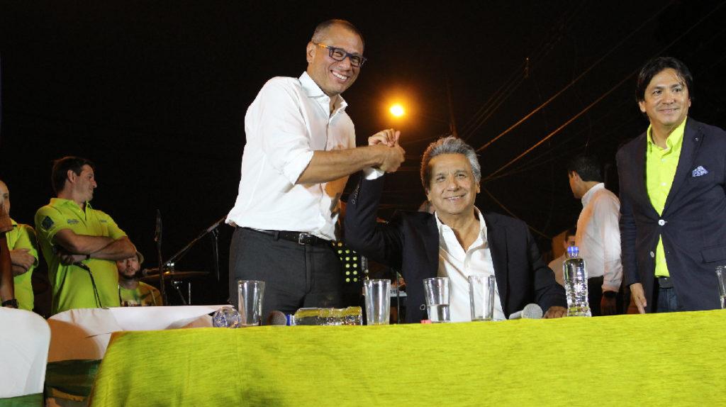 PAIS gastó USD 1,02 millones en la campaña Moreno-Glas