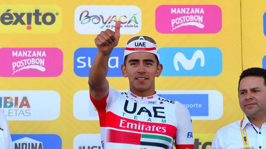 Dos ecuatorianos entre los cinco mejores del Tour Colombia a una etapa del final