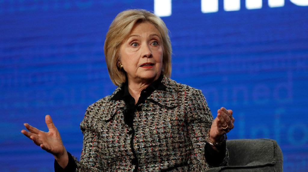 Hillary Clinton podría ser la compañera de fórmula de Bloomberg