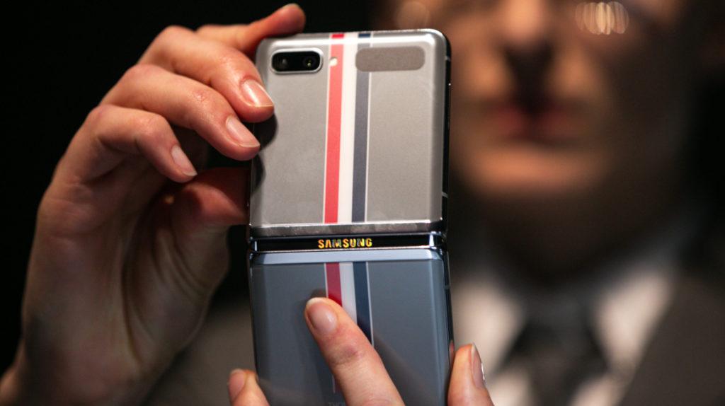 Samsung le apuesta a la pantalla plegable con el Galaxy Z Flip