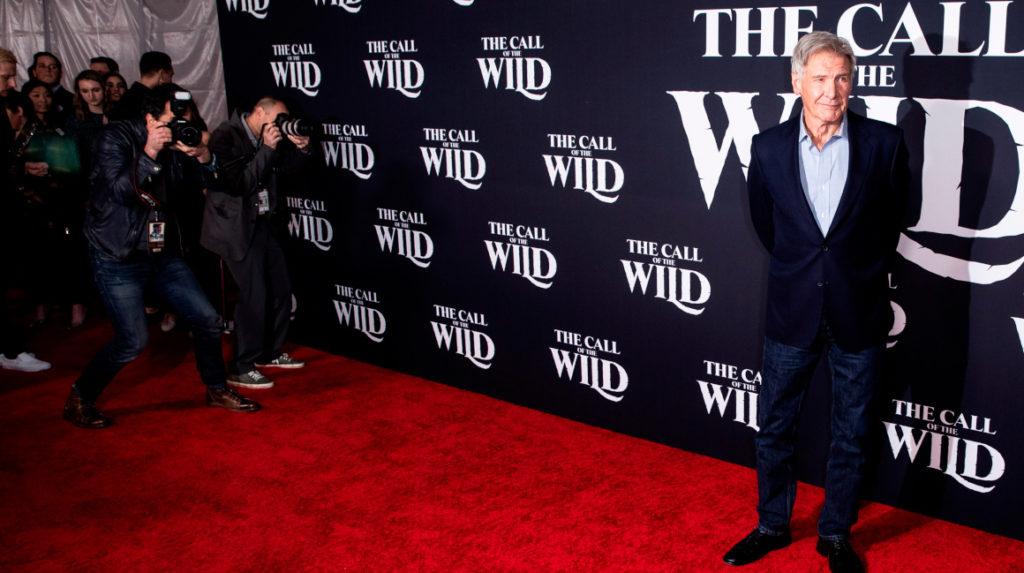 Harrison Ford vuelve a Hollywood para estrenar 'The Call of the Wild'