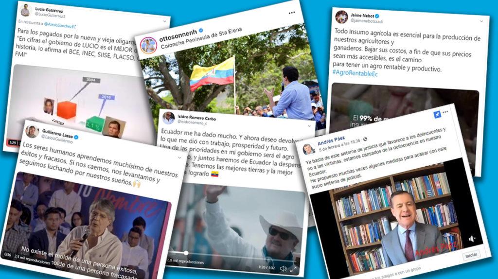 Precandidatos afinan sus trinos en las redes sociales