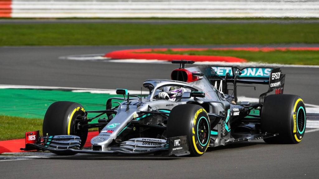 Hamilton y Bottas probaron sus nuevas monoplazas