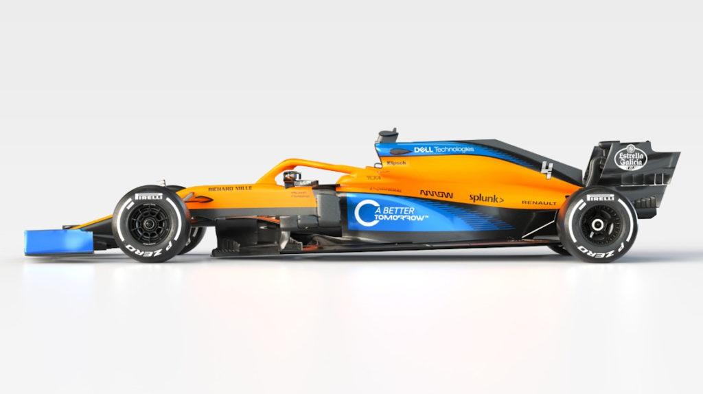 McLaren presenta su MCL35 para la temporada 2020