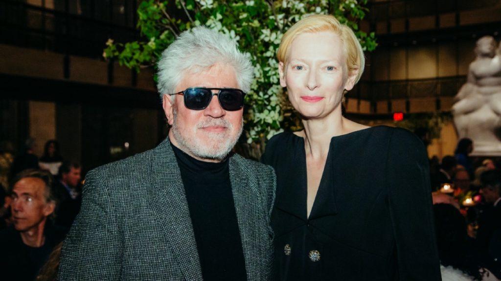 Almodóvar rodará dos proyectos junto a Tilda Swinton