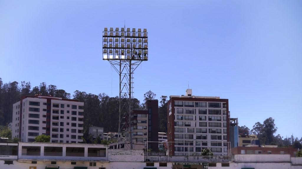 Las luces LED del Atahualpa también se usarán en el nuevo estadio