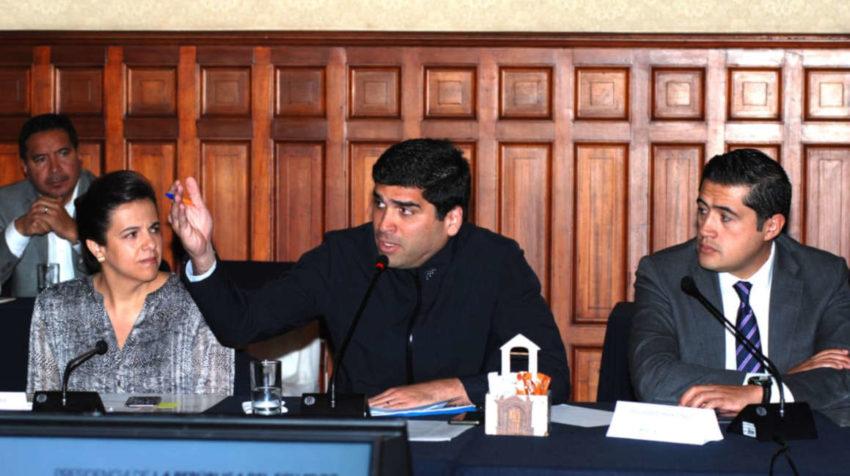 El vicepresidente Otto Sonnenholzner presidió la reunión.