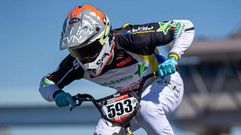El mal tiempo impide competir a Alfredo Campo en la Copa del Mundo BMX
