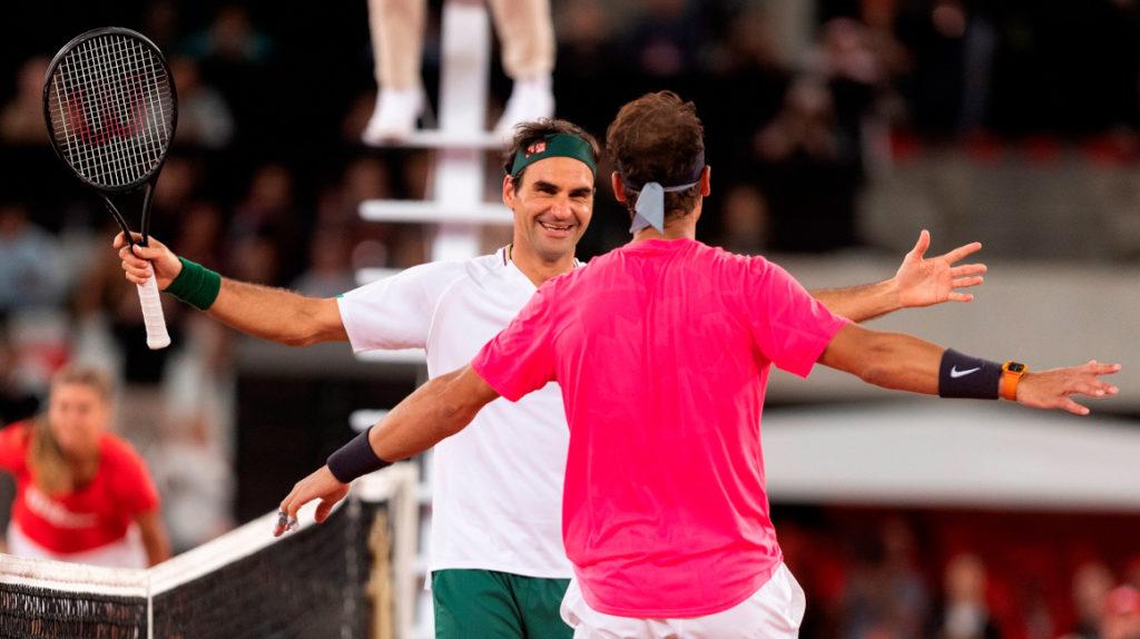 Federer y Nadal rompen récord de espectadores en Sudáfrica