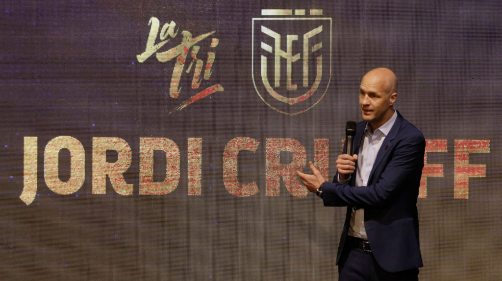 Jordi Cruyff y la FEF rescinden contrato sin pagos adicionales