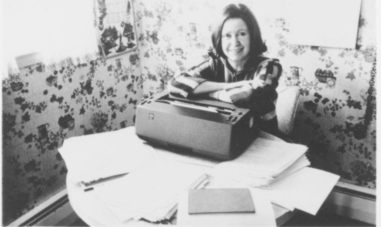 Mary Higgins Clark en los años setenta.
