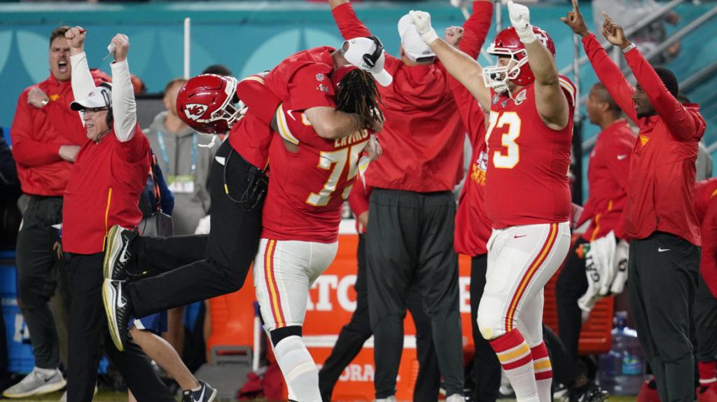 Los Chiefs llegan a Tampa para disputar la edición 55 del Super Bowl