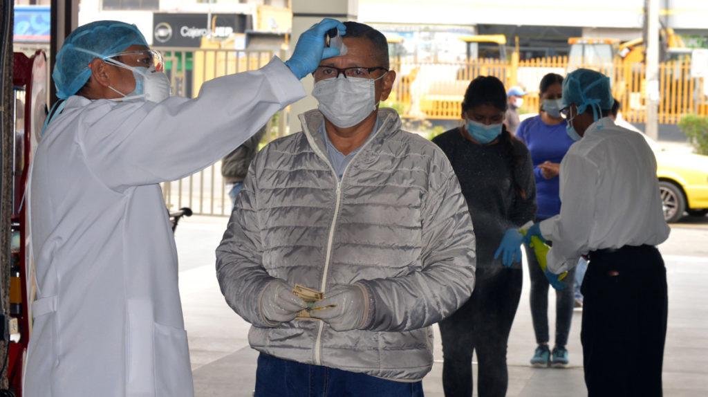 60 fallecidos y 1.962 casos confirmados de coronavirus en Ecuador