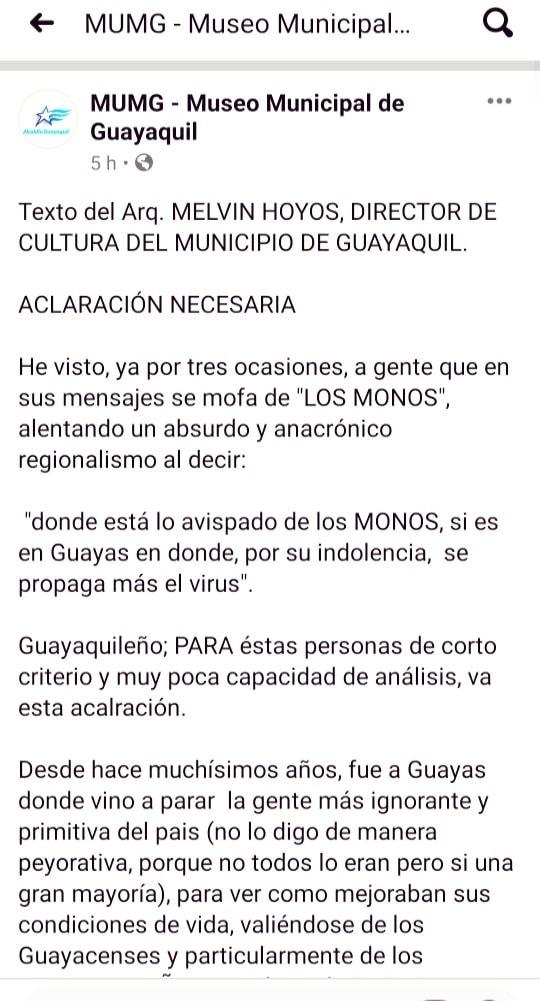 Texto de Melvin Hoyos, primera parte