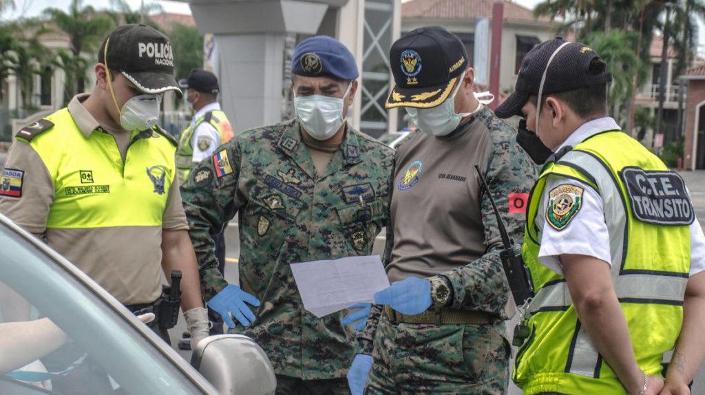 Romo anuncia que las Fuerzas Armadas manejarán la provincia de Guayas