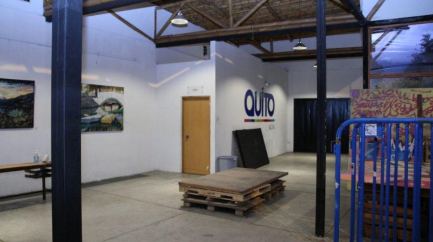 Servidores del Patronato San José y del MIES prepararon un albergue para personas en situación de calle, en Quito, el 20 de marzo de 2020