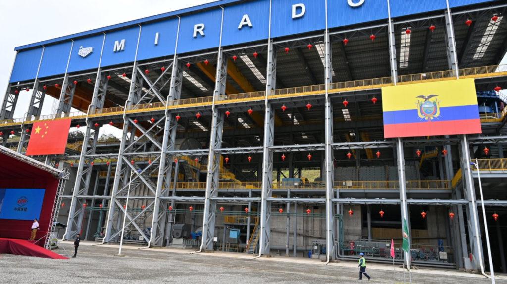 COE de El Pangui restringe acceso a la mayor mina de cobre del país