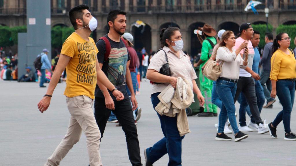 México regista 549.734 casos positivos de Covid-19