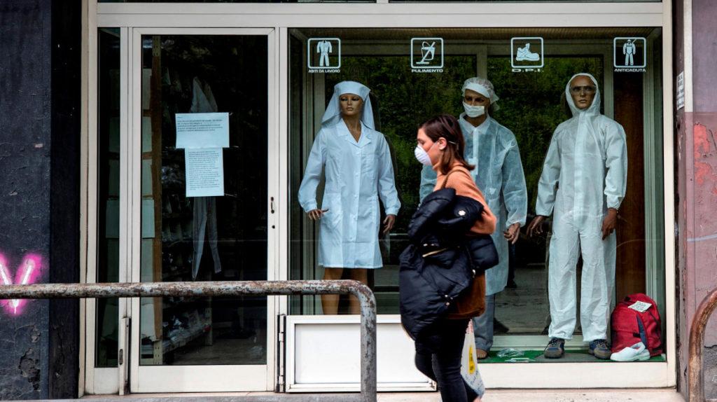 En Europa se disparan los contagios y fallecidos de coronavirus