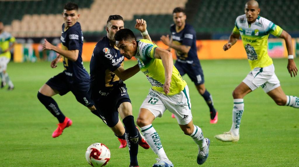 León puntero del torneo mexicano con un gol de Ángel Mena