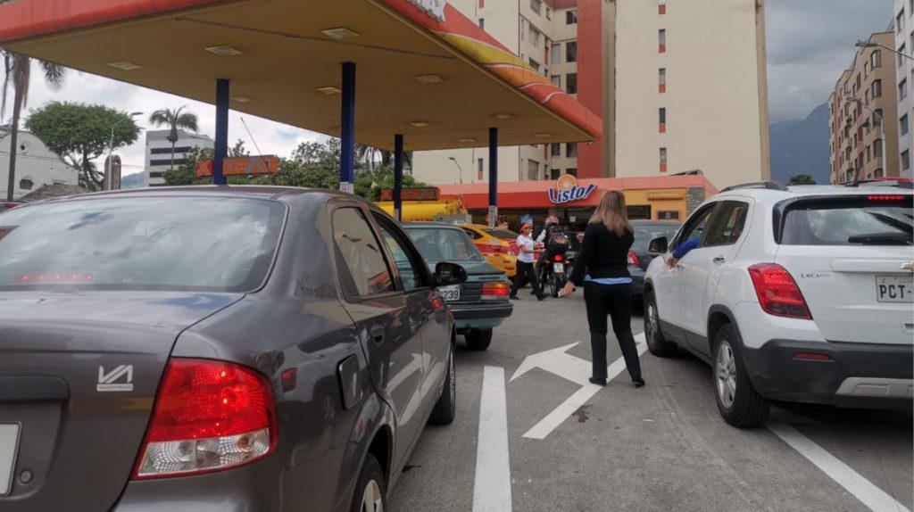 Precios del diésel y de gasolinas Extra y Ecopaís suben desde el 12 de octubre