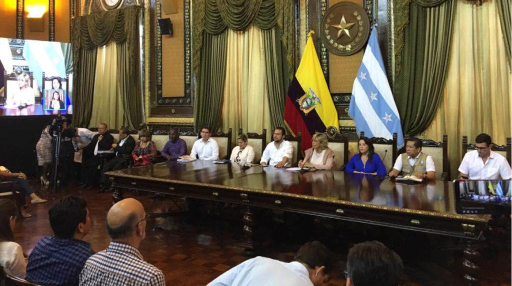 Alcaldía de Guayaquil dispone suspensión total de eventos públicos en la ciudad