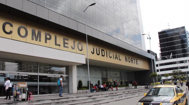 En el complejo judicial Norte, en Quito, se realizó la audiencia de juzgamiento contra Royce Ph.