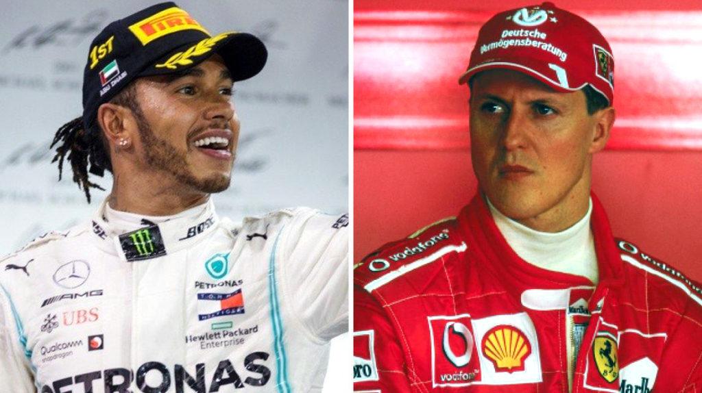Lewis Hamilton, a una temporada de igualar a Michael Schumacher